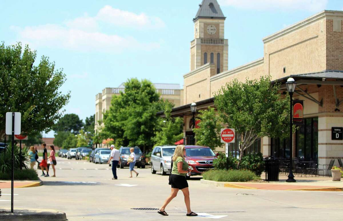 La Centerra at Cinco Ranch is a growing mixed-use development near Grand Parkway in the Katy area.