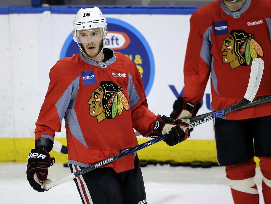 Center Jonathan Toews and his Blackhawks teammates are bidding to win their third Stanley Cup title in six seasons. Photo: Chris O'Meara, Associated Press