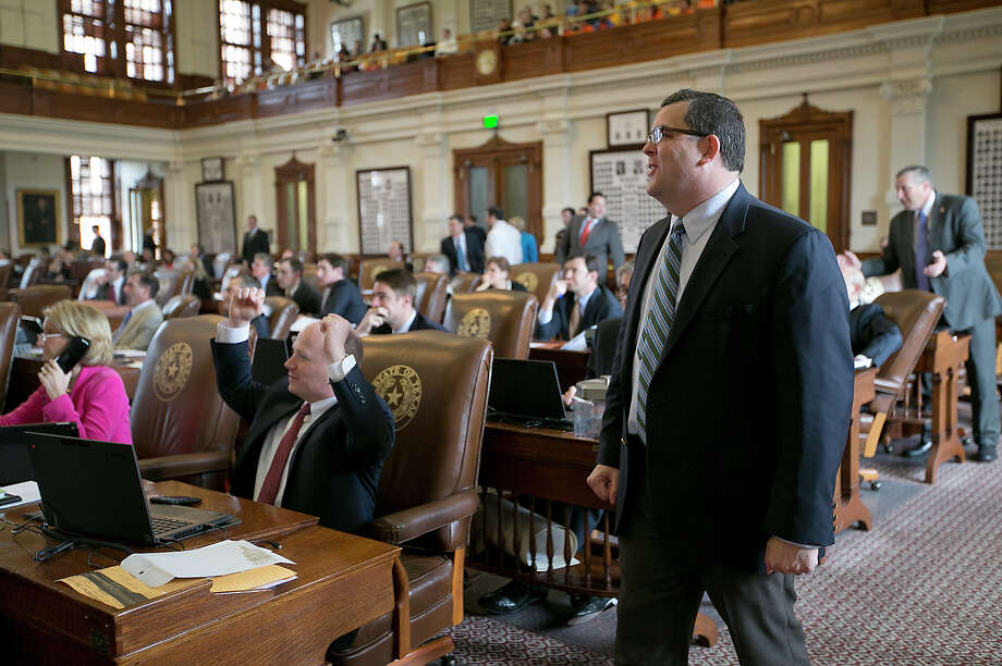 """Rep. Larry Phillips was a significant player in SB 910, the the campus carry legislation 2015. The legislation allowed """"reasonable"""" restrictions on where guns wouldn't be allowed on campus but failed to define reasonable. Photo: Ralph Barrera /Associated Press / Austin American-Statesman"""