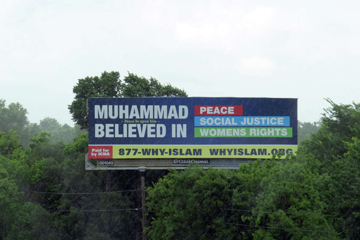 Islam billboards started appearing around Houston area recently. The billboards are part of a national campaign to informe people about the Muslim faith.