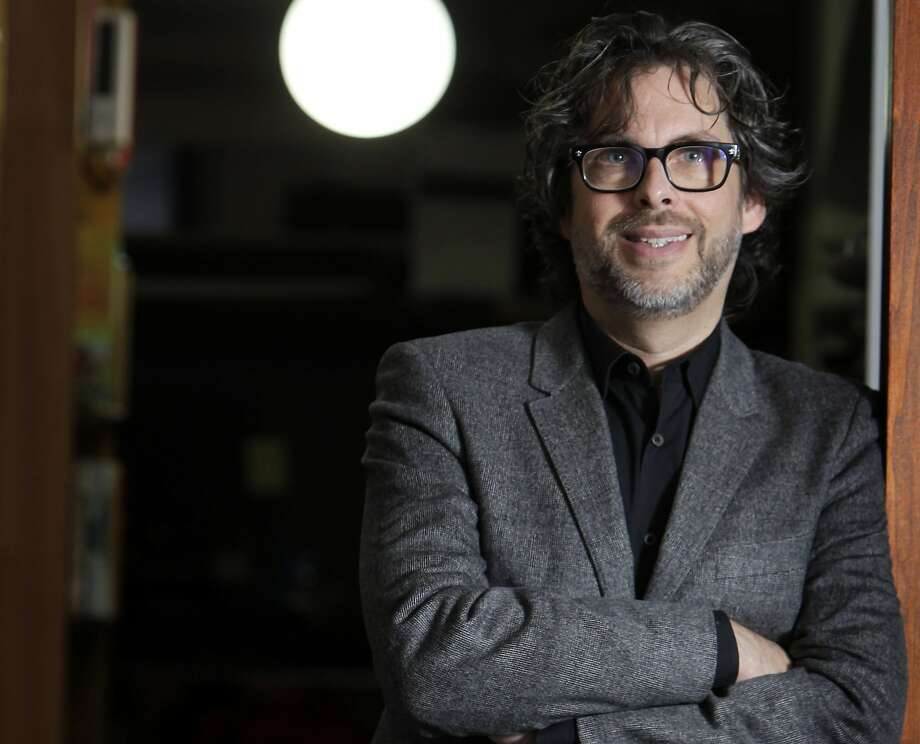 """FILE - This Dec. 6, 2010 file photo shows author Michael Chabon posings for a photo in New York.  Chabon's """"Telegraph Avenue,"""" was named one of 2012's notable books by The New York Times. His first novel in five years, its release was one of the literary events of 2012.  (AP Photo/Seth Wenig, file) Photo: Seth Wenig, Associated Press"""