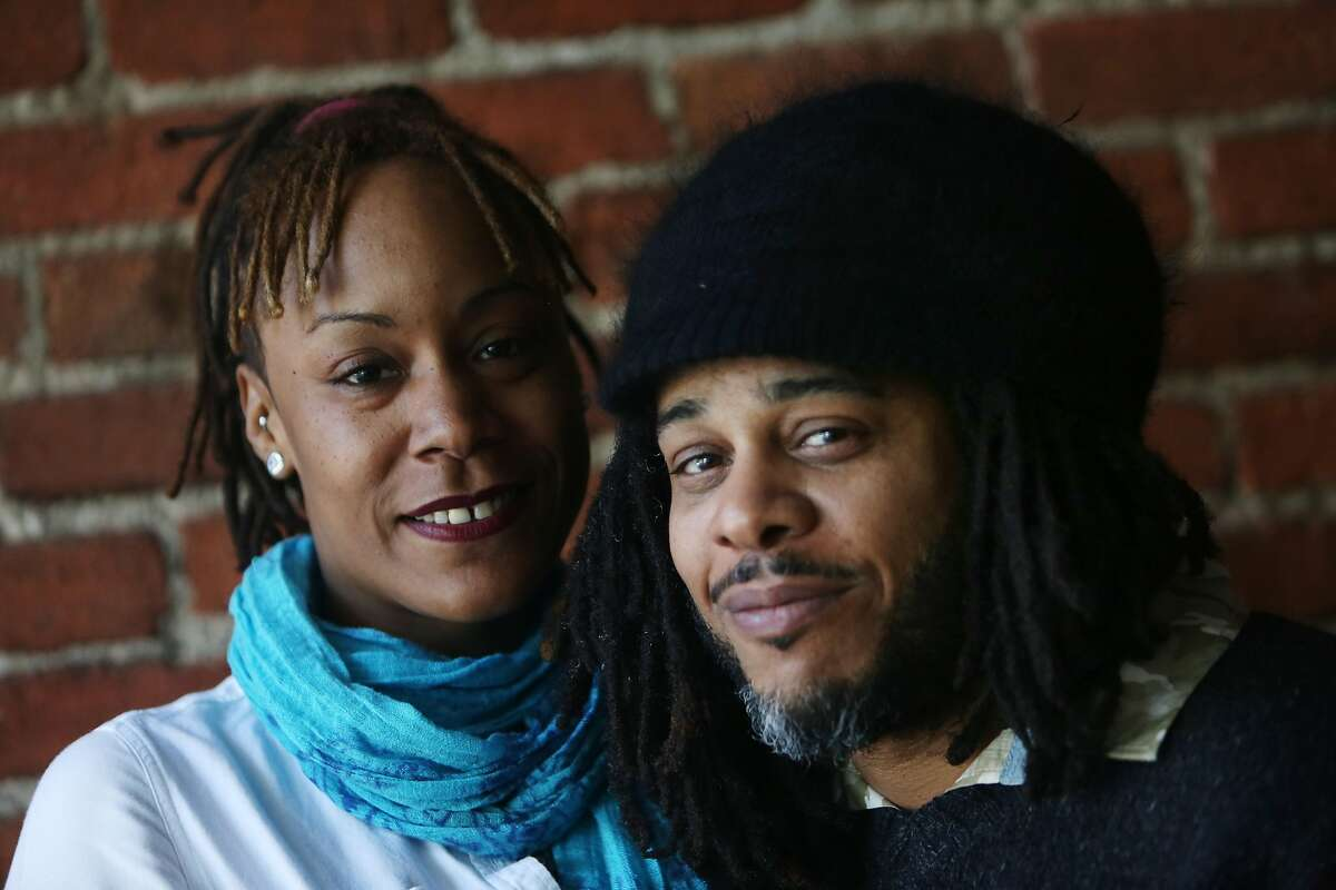San Francisco Black Film Festival co-directors Kali O'Ray (right) and Katera Crossley (left) pose for a portrait on Tuesday, June 2, 2015 in San Francisco, Calif.