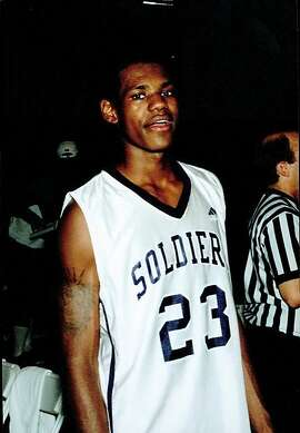 LeBron James is seen as an Oakland Soldier in the early 2000s.