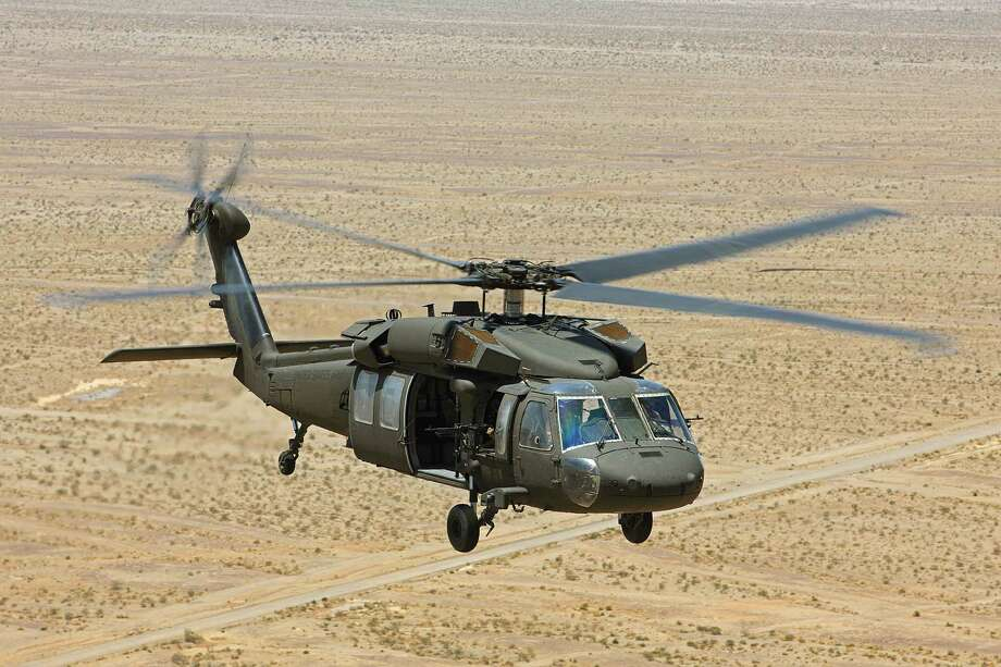 The Sikorsky UH-60 Blackhawk helicopter is manufactured in Connecticut. Photo: Sikorsky