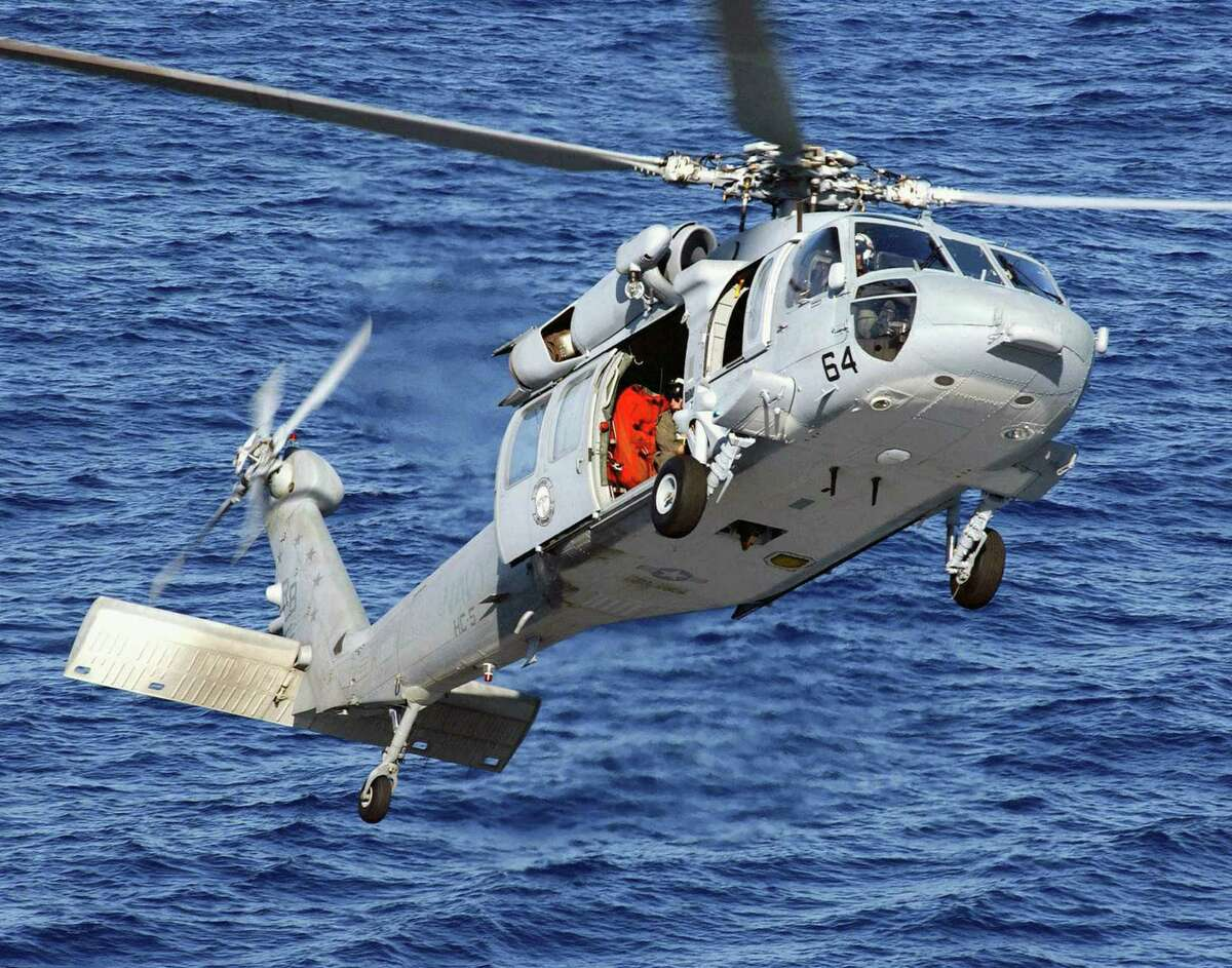 The Sikorsky MH-60 Seahawkhelicopter is manufactured in Connecticut.