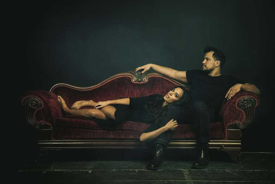 Johnnyswim's Amanda Sudano and Abner Ramirez are partners in music and in marriage. Photo: Jeremy Cowart