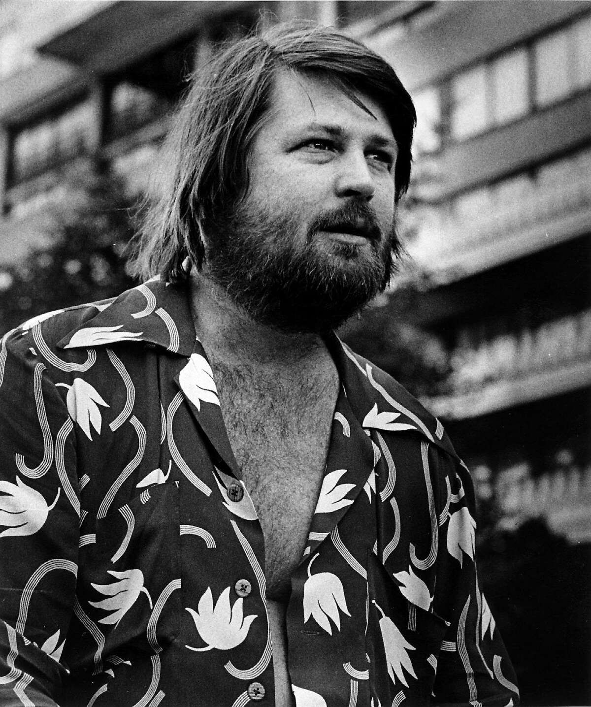 The real Brian Wilson in August 1976. Illustrates FILM-WILSON (category e), by Michael O'Sullivan © 2015, The Washington Post. Moved Friday, May 29, 2015. (MUST CREDIT: Washington Post photo by James A. Parcell.)