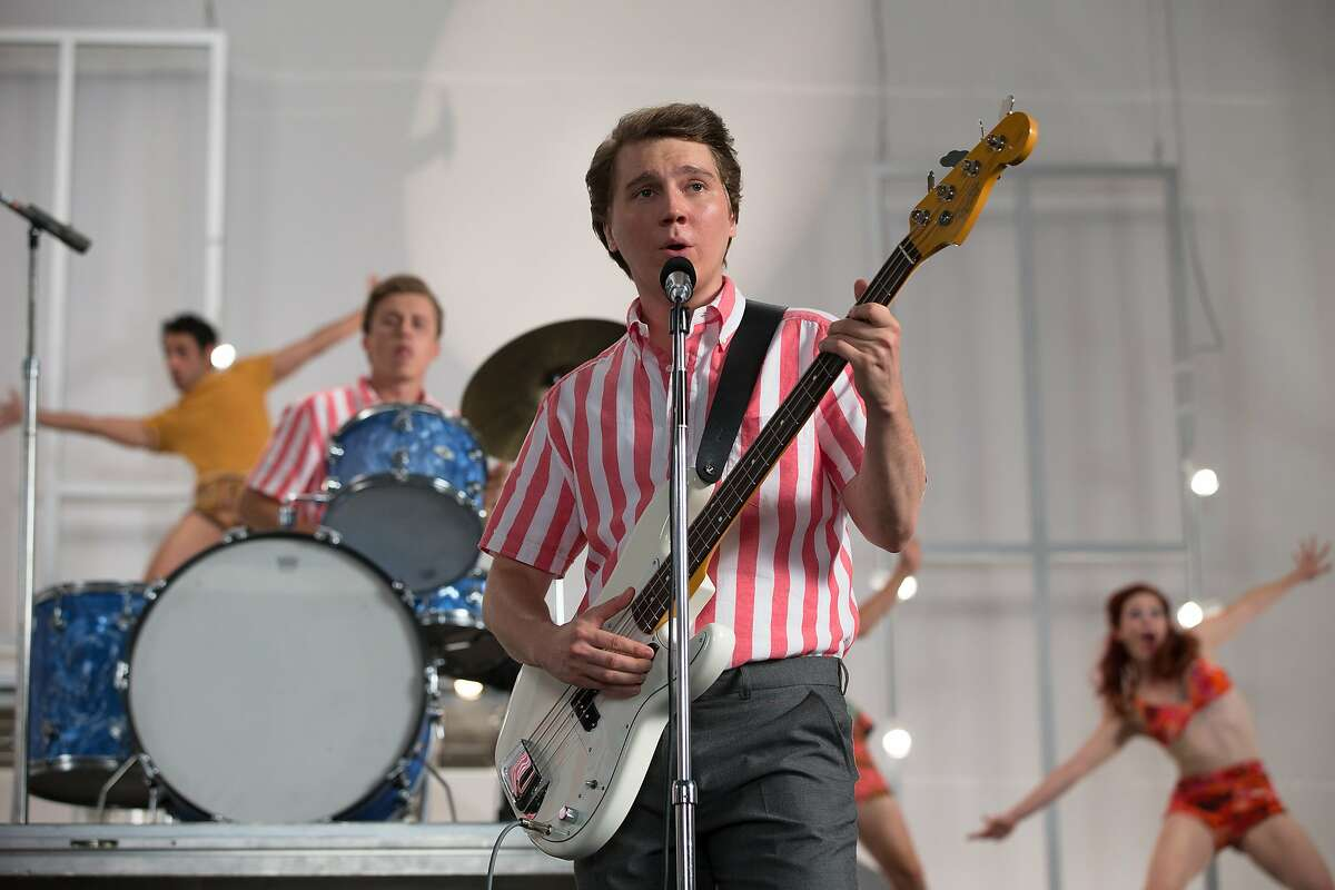 """Paul Dano as a young Brian Wilson in """"Love & Mercy."""" (Francois Duhamel/Roadside Attractions/TNS)"""