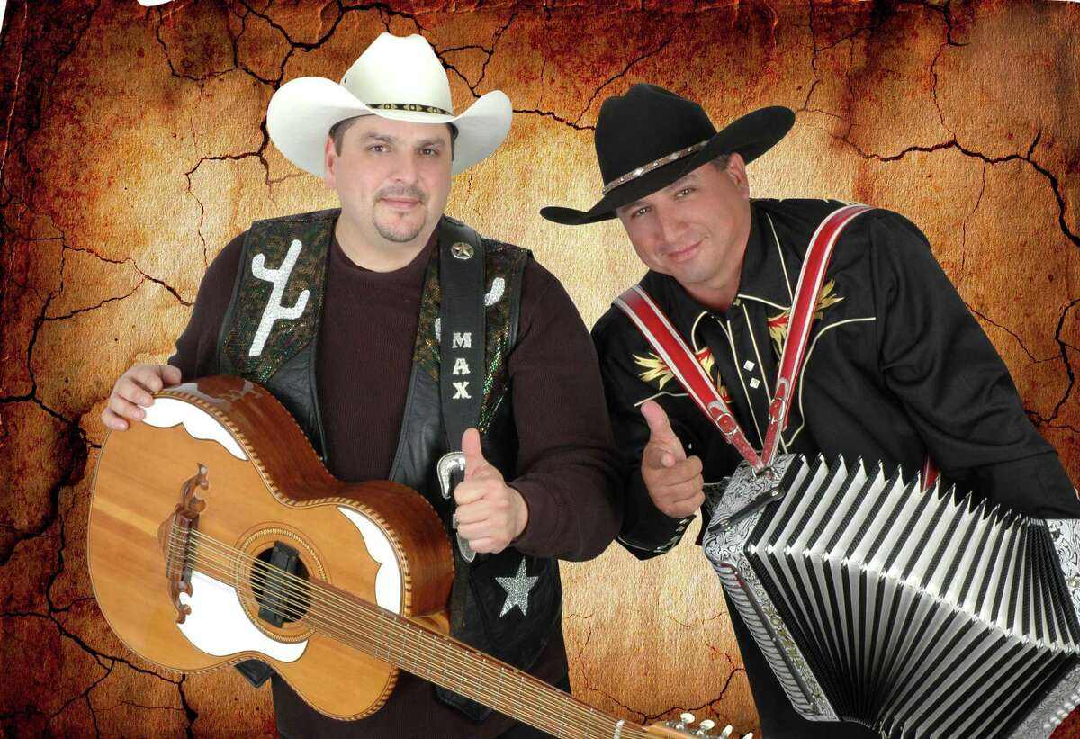 Max Baca, left, and Israel Villanueva of Los TexManiacs will perform at Miller Outdoor Theatre.
