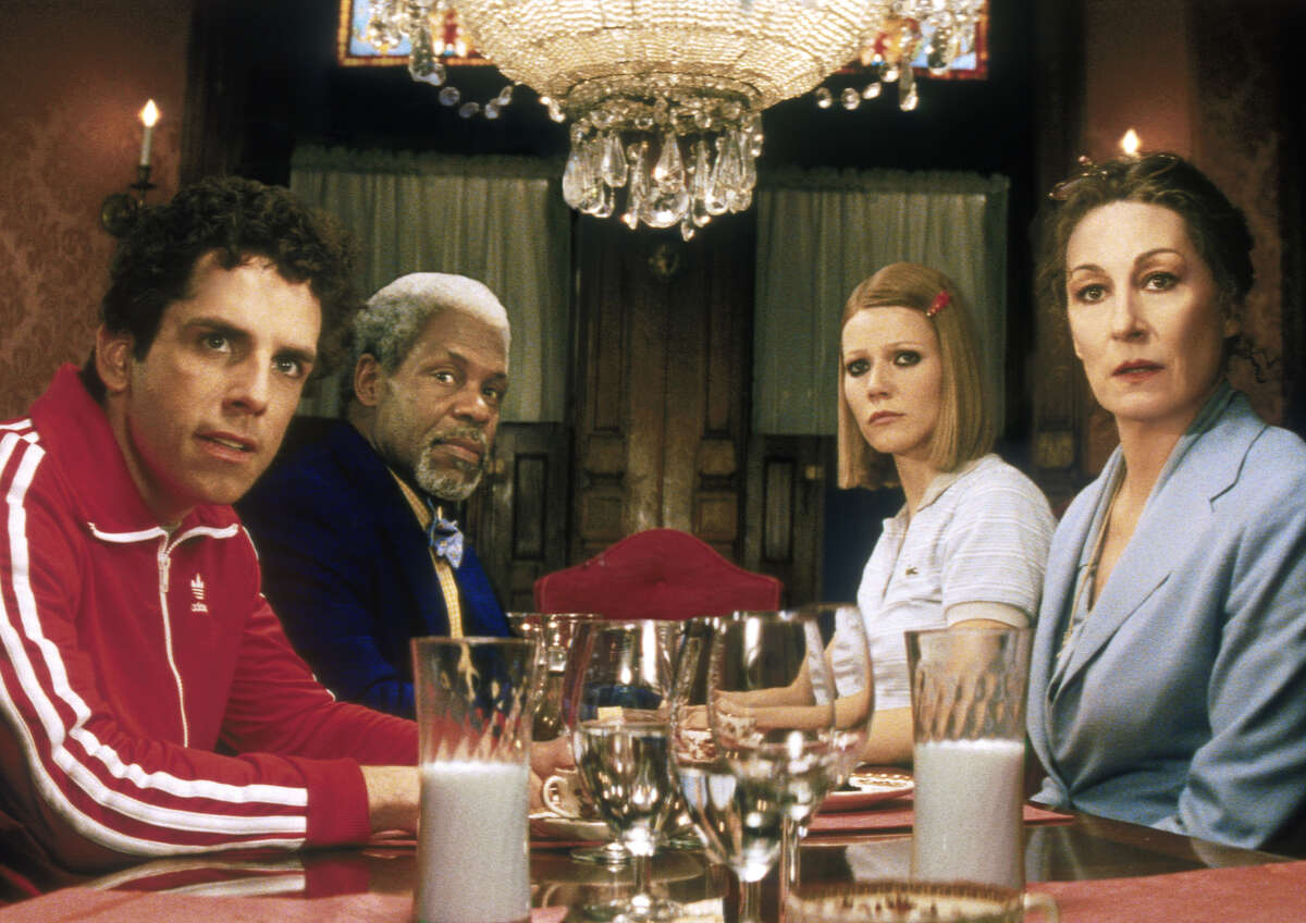 """Ben Stiller, from left, Danny Glover, Gywneth Paltrow and Anjelica Huston star in """"The Royal Tenenbaums."""""""