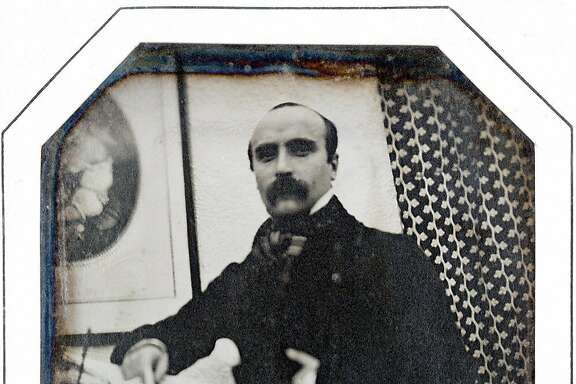 aris, FRANCE: TO GO WITH STORY IN FRENCH : 'Flaubert ou pas Flaubert' - Undated photograph of a 10 x 8cm daguerreotype circa 1846 from the US collection of John Wood, estimated 40-60.000 Euros, presented as 'the only photographic portrait of young Frenchnovelist Gustave Flaubert' at 25, going under the hammer,18 November 2006 at Artcurial auction house in Paris. AFP PHOTO / ARTCURIAL (Photo credit should read -/AFP/Getty Images)