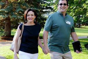 Sherryl Sandberg, pictured here in this file 2013 file photo, has written a Facebook post about grieving following the death of her husband Dave Goldberg.