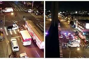 'Violent felon' still on the lam after running over pedestrian - Photo