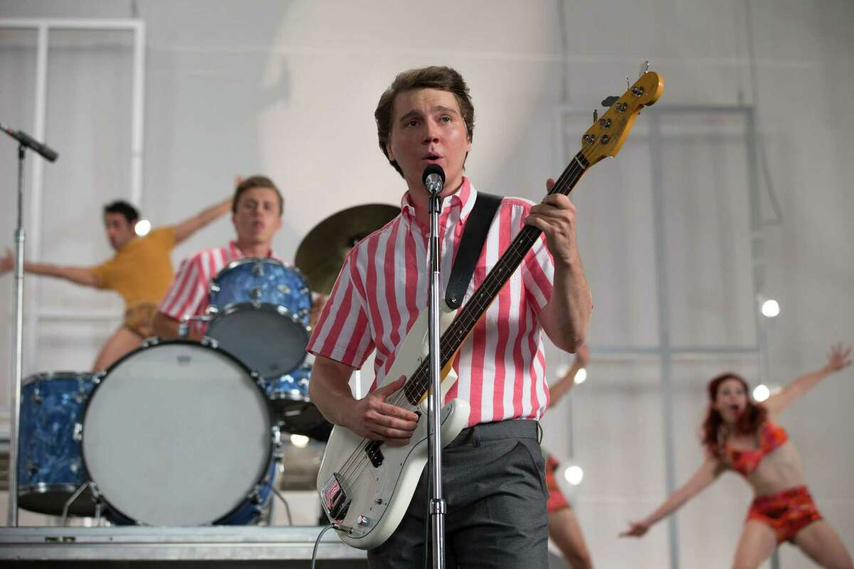 This photo provided by Roadside Attractions shows, Paul Dano as Brian Wilson, in a scene from the film,