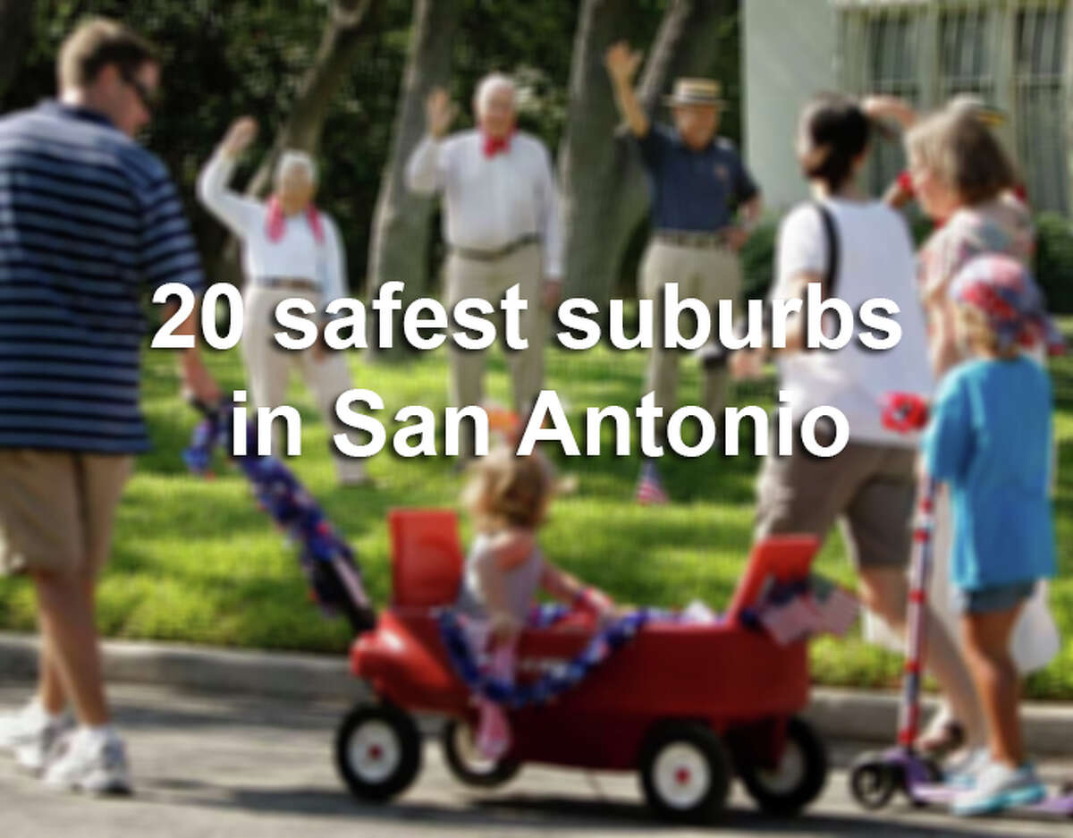 Find out where popular San Antonio-area communities like Shavano Park, Alamo Heights and Live Oak rank according to their crime stats.