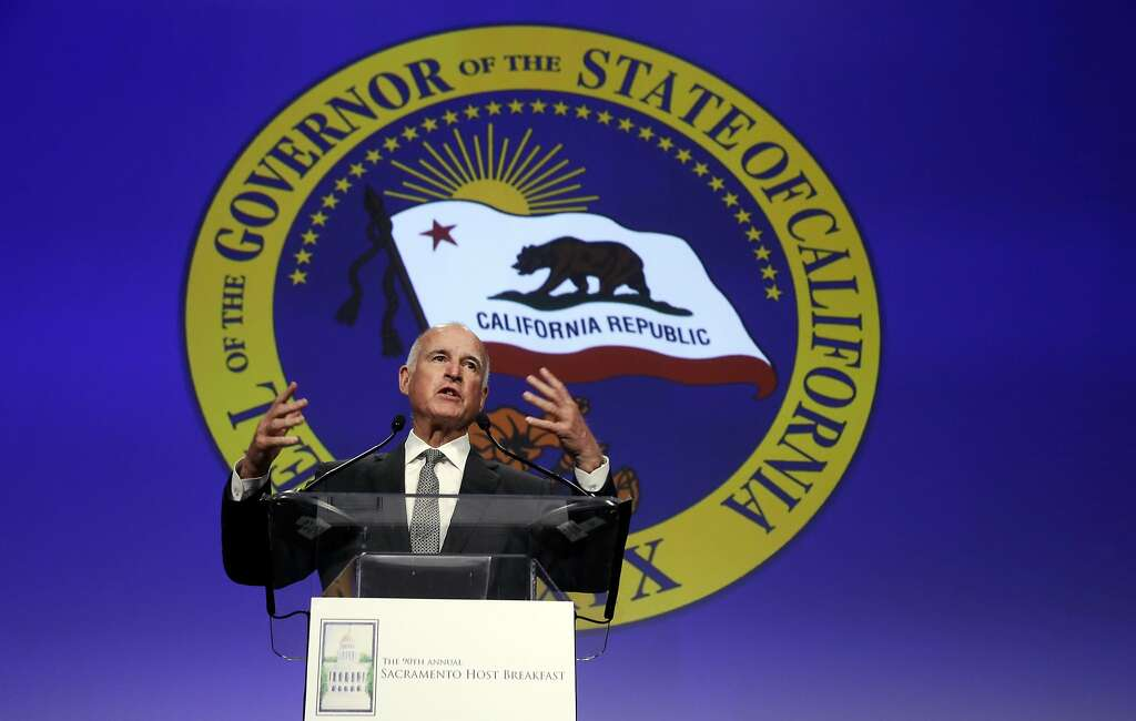 Gov. Jerry Brown is accused of firing California's top oil regulator after she started subjecting some of the oil companies' operations to greater scrutiny. Photo: Rich Pedroncelli, Associated Press