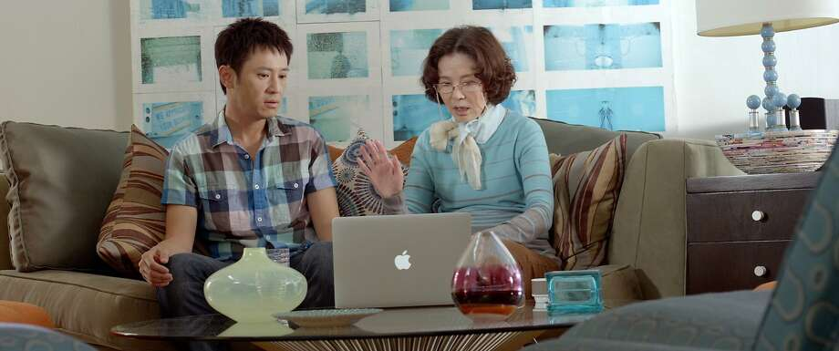 """Grace Guei stars in """"Baby Steps."""" Baby Steps This engaging Taiwanese-U.S. dramedy is an homage to Ang Lee's cross-cultural classic """"The Wedding Banquet,"""" complete with the Asian-Caucasian gay couple, the meddlesome mother and the never-ending quest for a grandchild. But this time around, director and Stanford grad Barney Cheng (who also co-stars and writes) tells the story largely from the perspective of the mother (Grace Guei, excellent) and adds a modern spin: surrogacy. It's an adventure that takes mother and son all over the globe, but in the end, it's also a touching coming-out story — not of a gay man, but of a mother struggling to be part of her son's life. 6:30 p.m. June 21, Victoria; United States, Taiwan, 103 minutes Photo: Frameline"""
