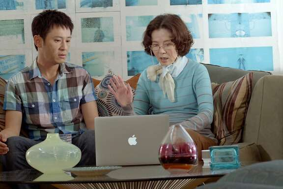 "Barry Cheng and Grace Guei star in ""Baby Steps"""
