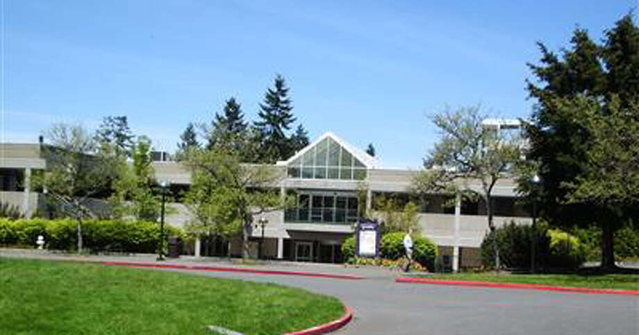 Bellevue College's B Building, pictured in a King County Assessor's Office photo. Samammish resident Robert Whitehead is alleged to photographed three Bellevue College students in a bathroom at the building. Photo: -