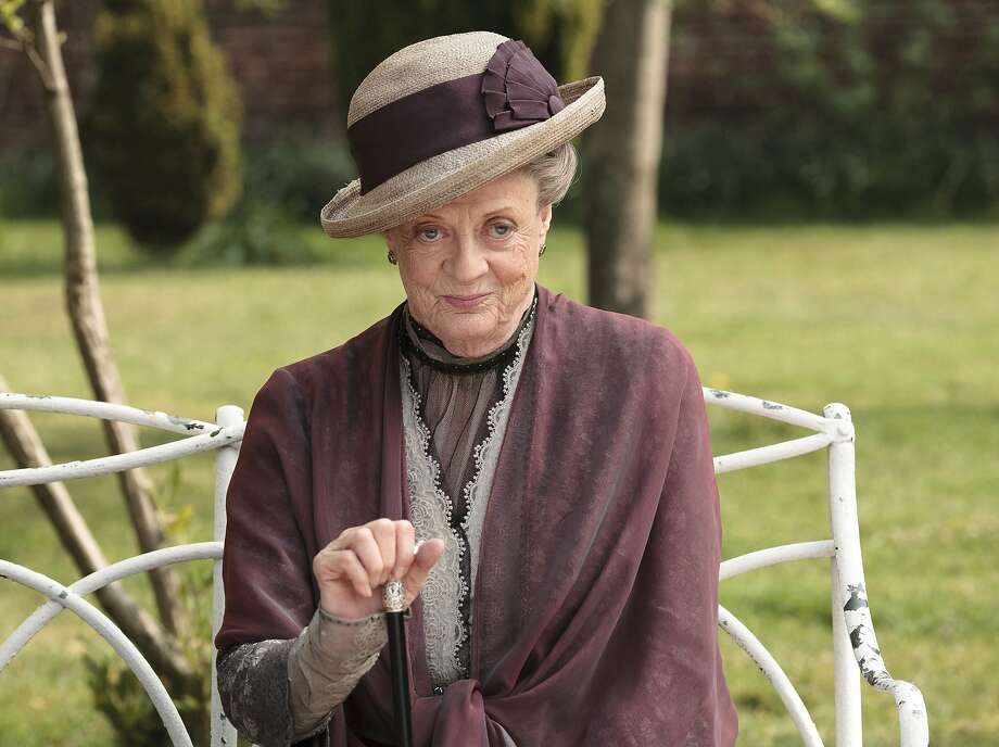 Maggie Smith as the Dowager Countess Grantham. Photo: Nick Briggs, Associated Press