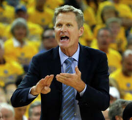 Kerr merrily steered the Warriors through calm waters, zooming to the league's best record.