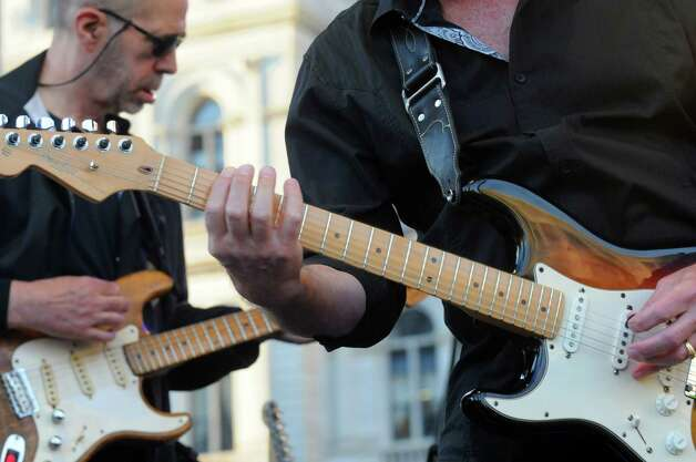 The band Orleans plays during opening night of the Plaza Concert Series at  Empire State Plaza Wednesday night, June 3, 2015, in Albany , N.Y.  (Michael P. Farrell/Times Union) Photo: Michael P. Farrell / 10032072A