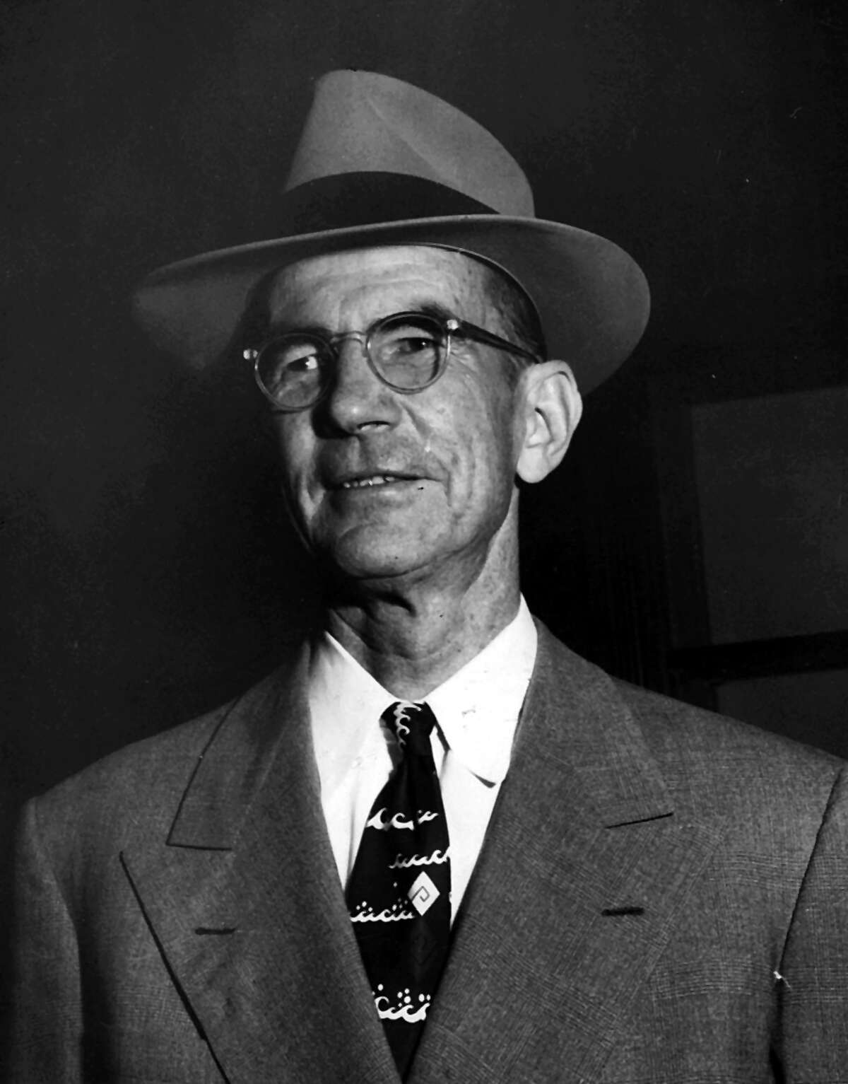 H. B. Zachry photographed in 1958.