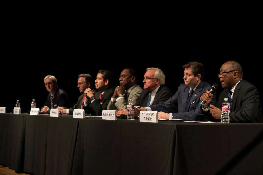 Mayoral Forum focused on Arts and Culture on June 3, 2015 at the Asia Society Texas in Houston, TX. Photo: Jamaal Ellis, For The Chronicle / ©2015 Houston Chronicle