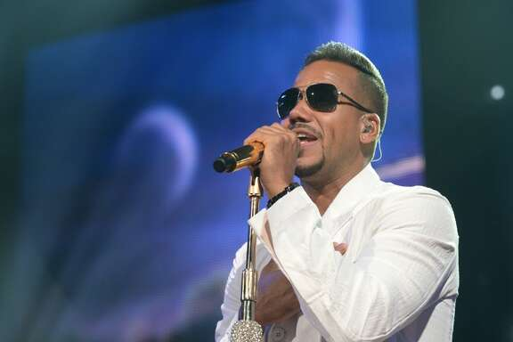 Romeo Santos performs at Toyota Center on June 3.