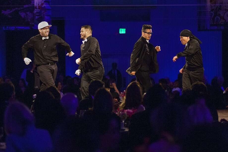 """The Knuckle Neck Tribe perform for guests during dinner, Wednesday, June 3, 2015, at the Asian Art Museum of San Francisco, Calif. It was the museum's opening night gala for the """"28 Chinese"""" exhibition. Photo: Santiago Mejia, Special To The Chronicle"""