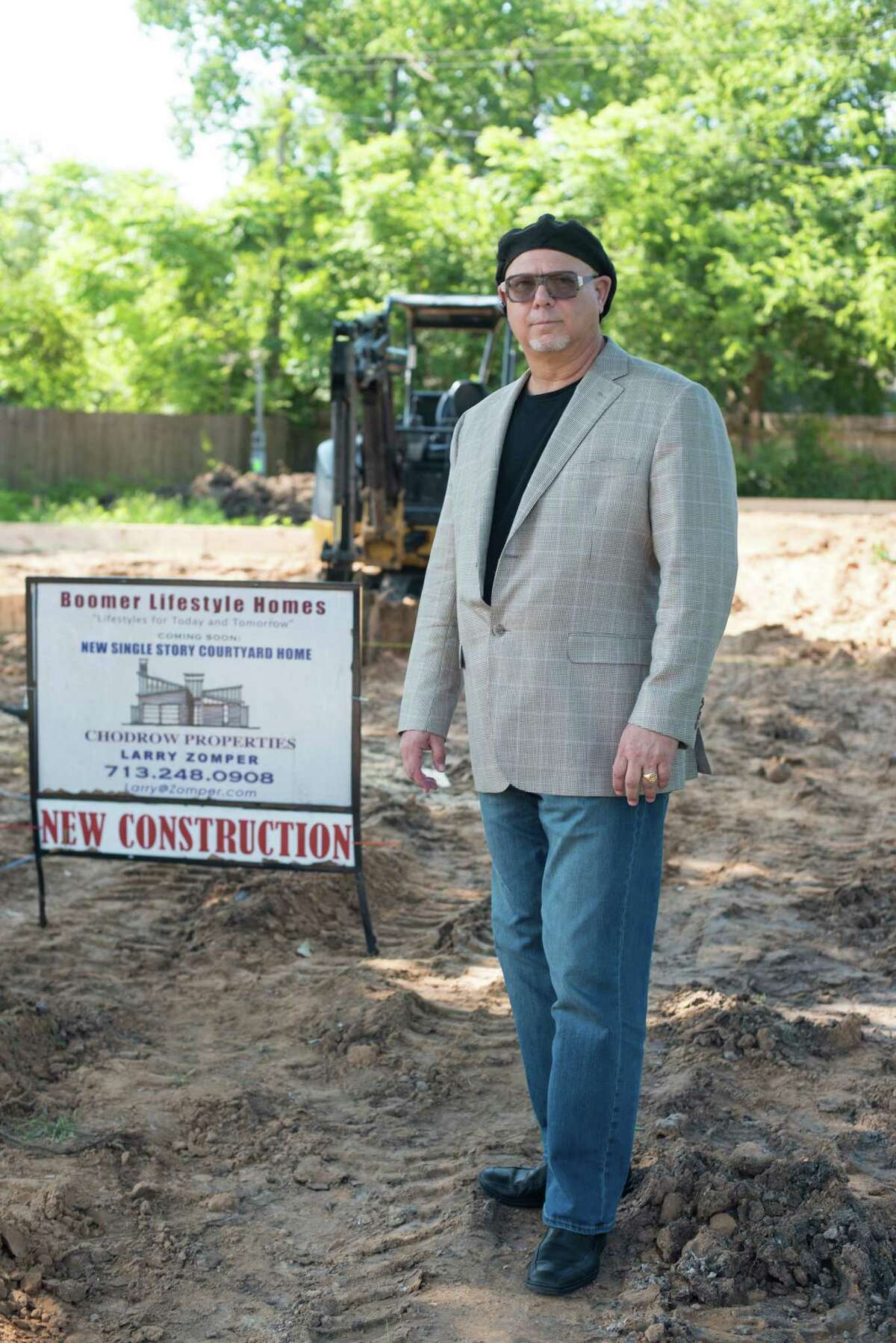 Larry Zomper of Boomer Lifestyle Homes on June 3, 2015 in Houston, TX