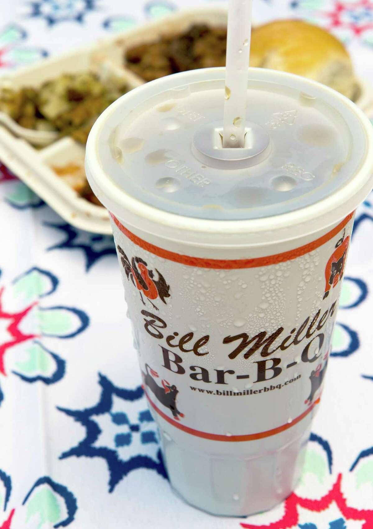 Bill Miller iced tea is a hometown favorite.