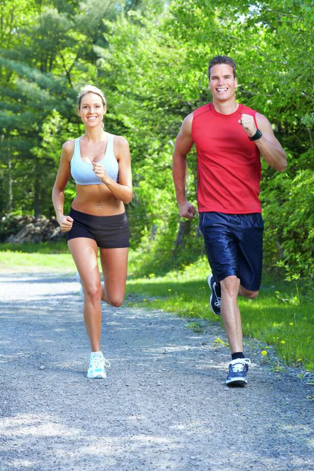 Tips for working out as a coupleCouples can have fun and success at working out together, but it takes some work. Click through these photos to see some tips from professional personal trainers.Source: Jon Kidwell, healthy living director at Weekley Family YMCA, Houston; Dena Marks, personal trainer, Weekley Family YMCA; and Brandon Mancine, fitness consultant, Brandon Mancine Fitness. (Kurhan - Fotolia)  Photo: Kurhan - Fotolia / Kurhan - Fotolia