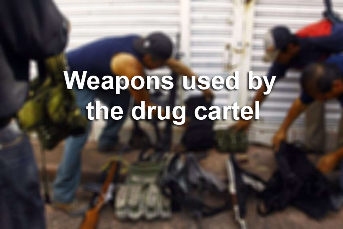 Drug gangs have been increasing their firepower in recent years. Statistics show that the proportion of high-powered assault weapons has increased since around 2006.