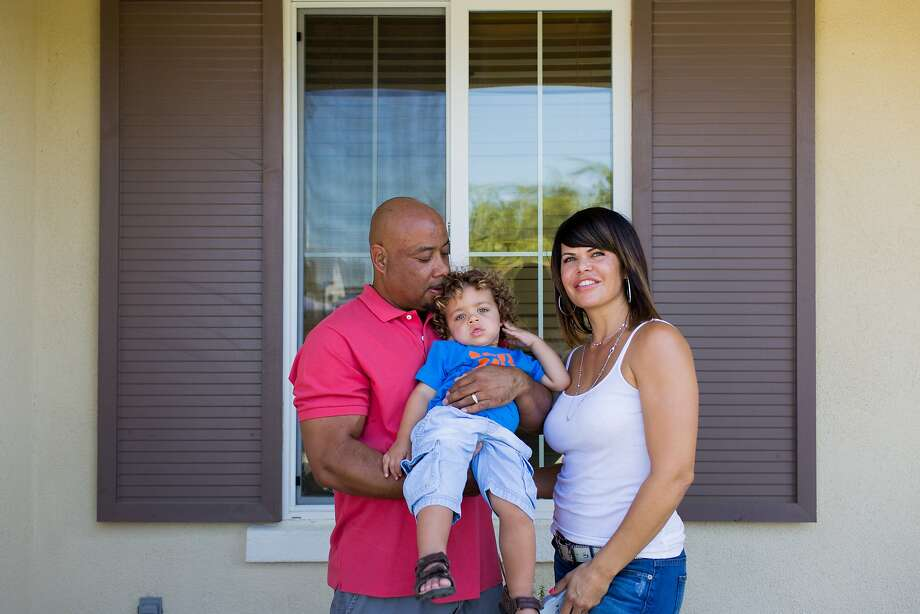 Contra Costa County is expected to become more diversified in the next 25 years. (Shown: Steavean and Jennifer Taylor with their son, Skyelar, in Brentwood, Calif.) Photo: Jason Henry, Special To The Chronicle