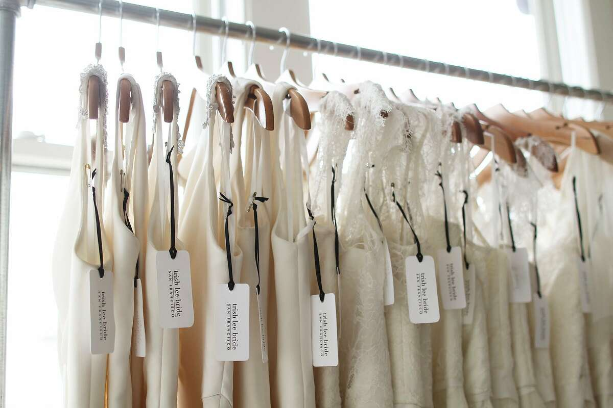 Trish Lee creates made-to-measure bridal gowns from her Union Square studio. 323 Geary St Suite 808, S.F. (415) 562-6553