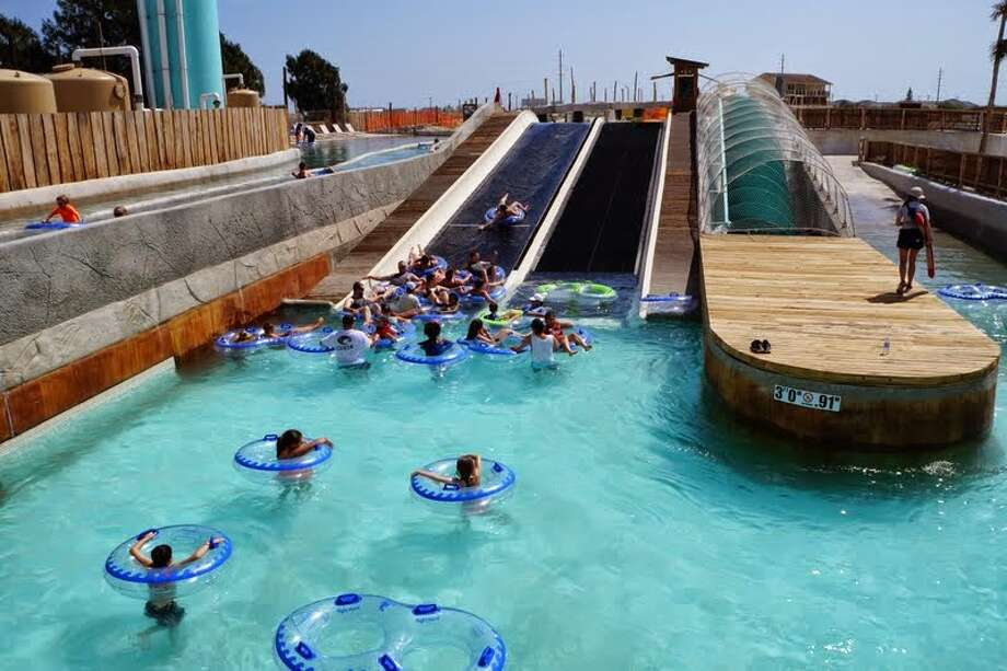"Schlitterbahn Waterpark in Corpus Christi is doing a ""rolling opening"" for the new waterpark, just recently opening a 2-mile wave river for guests to float in. Photo: Picasa, Courtesy Photo/Schlitterbahn"