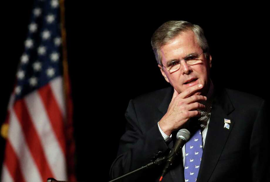 Jeb Bush is under growing pressure to acknowledge what to some voters and a number of campaign finance lawyers seems obvious: He is running for president. Photo: Isaac Brekken /New York Times / NYTNS