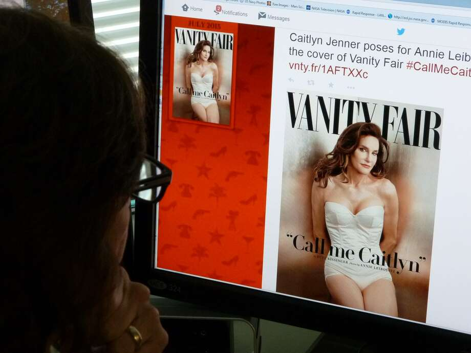 Caitlyn Jenner, the transgender Olympic champion formerly known as Bruce, this week unveiled her new name and look in a sexy Vanity Fair cover shoot — drawing widespread praise, including from the White House. Photo: MLADEN ANTONOV /AFP / Getty Images / AFP