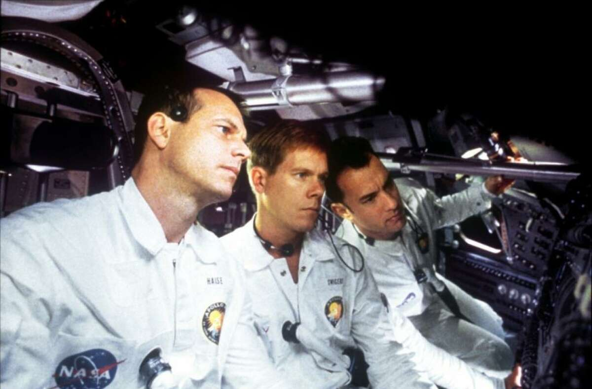 Apollo 13 (1995) Leaving Netflix April 1NASA must devise a strategy to return Apollo 13 to Earth safely after the spacecraft undergoes massive internal damage.