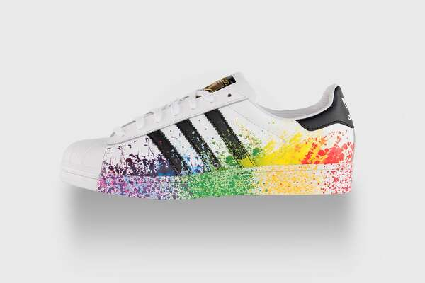 720afe35bd25f5 Adidas goes over the rainbow for Gay Pride - SFChronicle.com