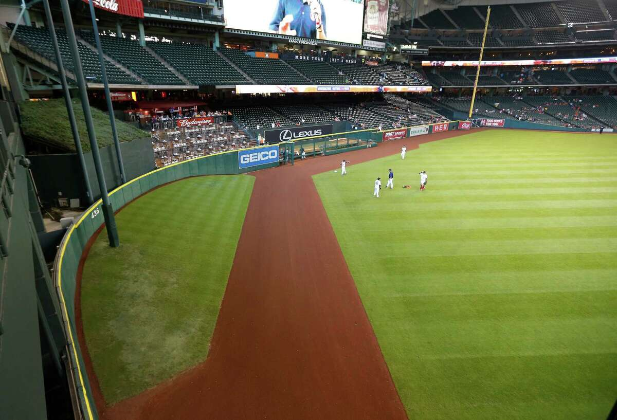 Tal's Hill gives the Astros the deepest center field in the majors at 436 feet. That will change in 2016, when, with the hill gone, the fence will be 409 feet from home.