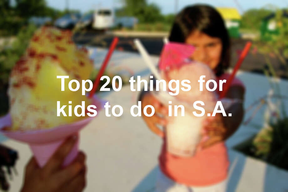 Top 20 things to do with kids in San Antonio Photo: San Antonio Express-News