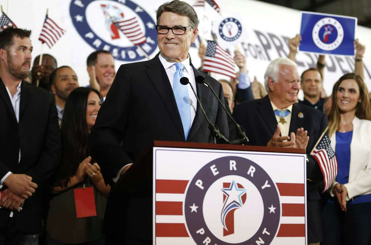 Rick Perry espouses Texas-style leadership that is coveted by middle-class Americans.