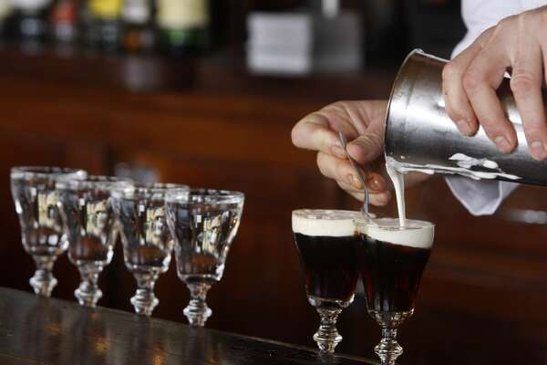 18) Irish coffees at the Buena Vista Cafe