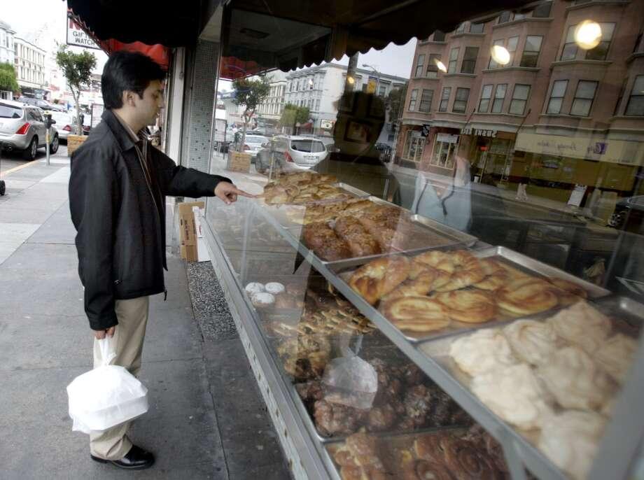Bob's Donut and Pastry Shop on Polk Street. Photo: Lance Iversen, San Francisco Chronicle 2005