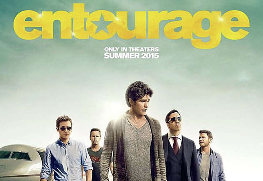 """Entourage,"" a new movie based on the television program chronicling the adventures of an actor and his buddies, is now playing in theaters. Photo: Contributed Photo / Contributed Photo / Westport New"