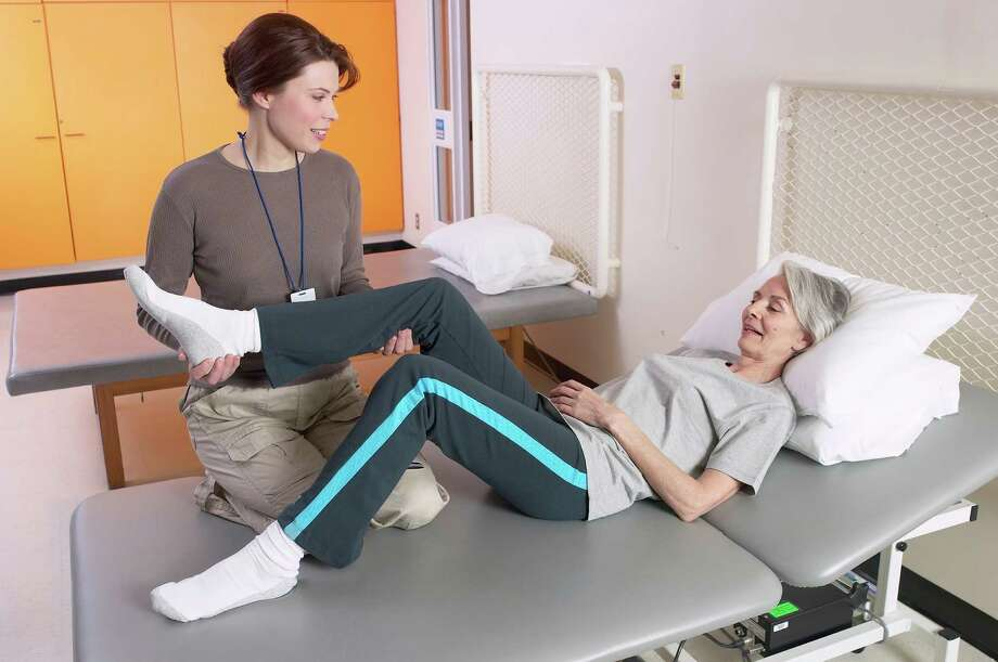 Besides graduating from an accredited program, states typically require of PT students a passing score on the National Physical Therapy Examination as part of the licensing requirements. / (C) 2005 Hemera Technologies