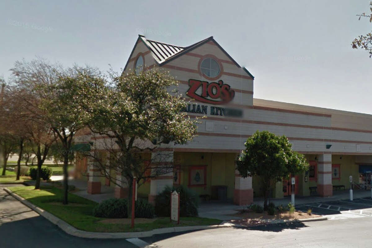 ZIO'S ITALIAN KITCHEN: 18030 NORTH US 281 San Antonio , TX 78232Highlights:Refrigerated ready-to-eat foods need use-by date marked, no paper towels at kitchen and bar hand washing sinks, observed employee cell phone on food prep line, food establishment permit is expired.