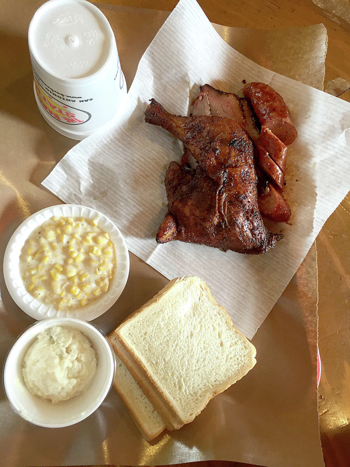 It was a gas station 24 years ago, now the Barbecue Station is one of San Antonio's favorite places to get delicious barbecue. It was the Express-News Reader's Choice Award Winner in 2013 and 2014 for Best Barbecue and Best Brisket. It's also won 13 Critics Choice Awards for Best Barbecue and Best Ribs. http://www.barbecuestation.com